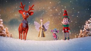 Myer reindeer christmas advert
